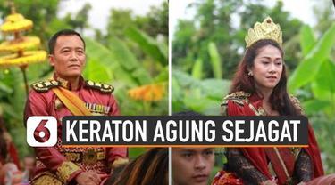 Polda Jateng resmi menahan Raja dan Ratu Keraton Agung Sejagat di Purworejo.