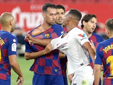 Banyak Peluang Gol, Barcelona Ditahan Imbang Sevilla
