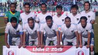 Skuat Persita Tangerang saat melawan PSCS Cilacap. (Bola.com/Vincentius Atmaja)