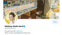CEO Bumble Whitney Wolfe Herd . Dok Twitter