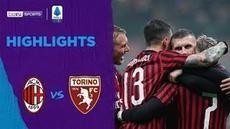 VIDEO: Highlights Serie A, AC Milan Menang Tipis Lawan Torino 1-0