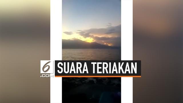 Viral di media sosial sebuah video berisi suara teriakan misterius. Kabarnya video itu diambil di salah satu pantai bekas terjadinya tsunami Palu tahun lalu.