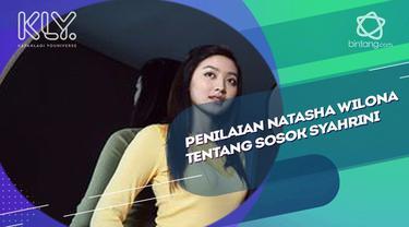 Natasha Wilona menceritakan saat ia bertemu sosok Syahrini.