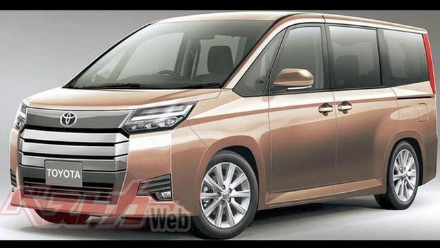 voxy terbaru dibangun dari tiga minivan toyota  otomotif