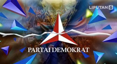 Ilustrasi Partai Demokrat (Liputan6.com / Abdillah)