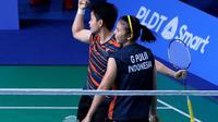 Greysia Polii/Apriyani Rahayu menembus final SEA Games 2019. (dok. PBSI)