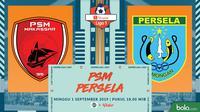 Shopee Liga 1 - PSM Makassar Vs Persela Lamongan (Bola.com/Adreanus Titus)