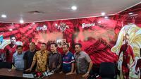 Konferensi pers Komite Pemilihan PSSI di Kantor PSSI, FX Sudirman, Jakarta Pusat, Jumat (4/10/2019). (Bola.com/Muhammad Adiyaksa).