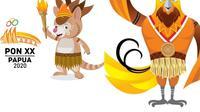 Drawa dan Kangpho merupakan hewan endemik Papua. (Liputan6.com/Katharina Janur)
