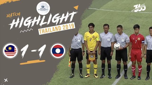Berita video Malaysia akhirnya merasakan kebobolan saat ditahan imbang 1-1 oleh Laos di Grup B Piala AFF U-15 2019, Sabtu (3/8/2019).