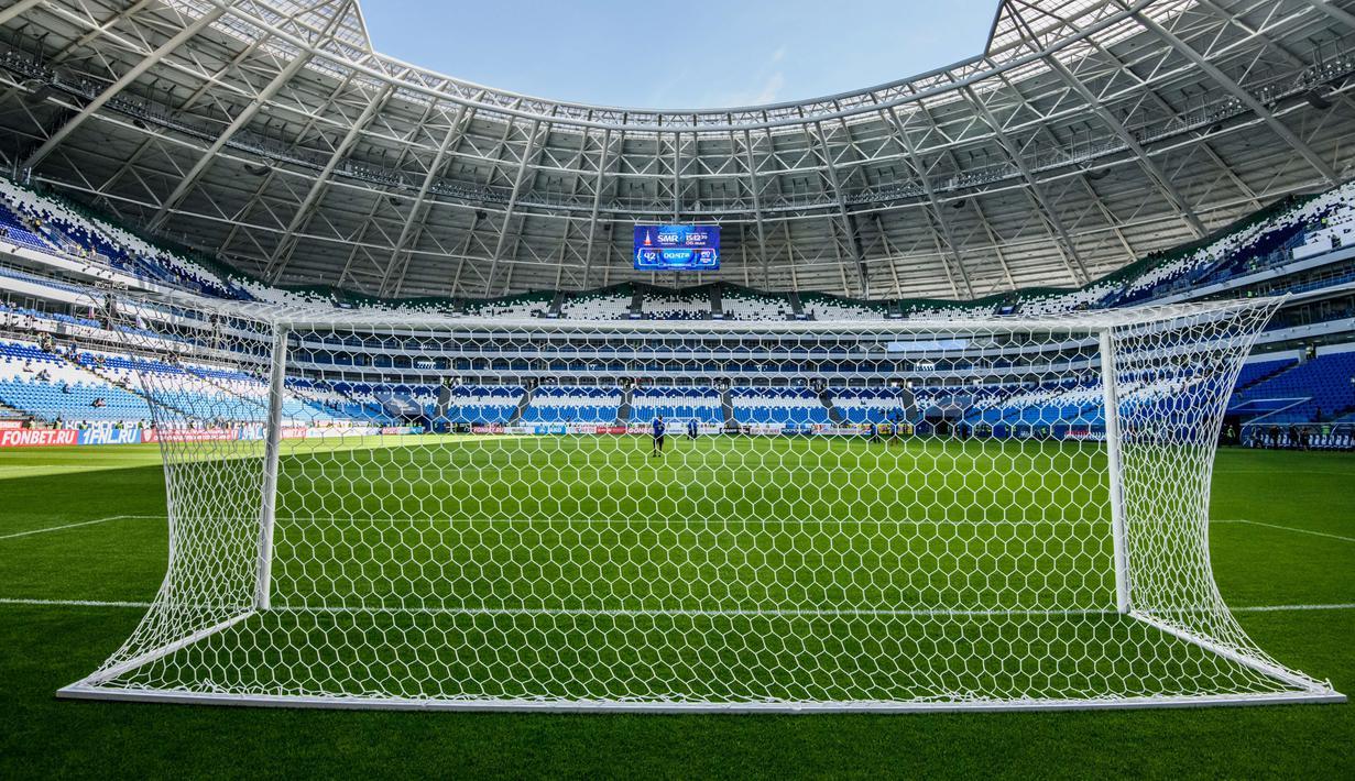 FOTO Samara Arena Stadion Megah Yang Dipakai Untuk Piala