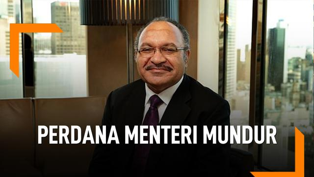 Penyebab Perdana Menteri Papua Nugini Mundur