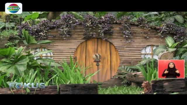 Sepanjang perjalanan, para tamu akan merasakan sensasi seperti berada di tengah hutan tropis di Kalimantan.