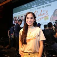 Sheryl Sheinafia saat di konfrensi pers screening Film Bebas di kawasan Senayan, Jakarta Pusat, Rabu (18/9/2019) (Daniel Kampua/Fimela.com)