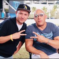 Gading Marten bersama Vin Diesel (Instagram/gadiiing)