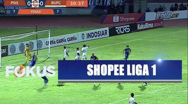 Bali United masih bertengger di pucuk klasemen sementara Shopee Liga 1 menjelang akhir kompetisi.