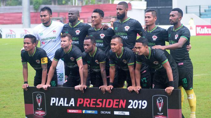 Kalteng Putra FC di Piala Presiden 2019. (Bola.com/Vincentius Atmaja)