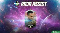 Raja Assist Rizky Pora Liga 1 2018 (Bola.com/Adreanus Titus)
