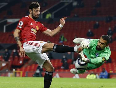 FOTO: Comeback Sempurna, Manchester United Tundukkan Brighton and Hove Albion