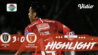 Laga lanjutan #ShopeeLiga1, mempertemukan #BaliUnitedFC vs #PerseruBadakLampungFC pada hari Selasa malam (22/10/2019) berakhir den...