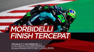 Berita Video hasil kualifikasi MotoGP Catalunya, Sabtu (26/9/20). Franco Morbidelli urutan pertama dan Valentino Rossi tercepat ketiga.