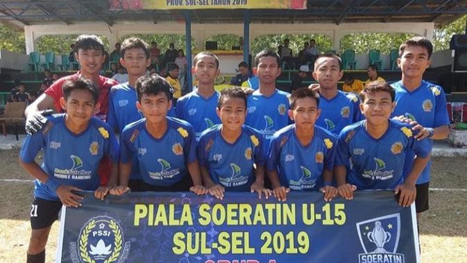 Bank Sulselbar FC. (Bola.com/Abdi Satria)