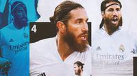 Real Madrid - Sergio Ramos (Bola.com/Adreanus Titus)