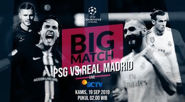 Berita Video Badai Cedera Warnai Bigmatch PSG Vs Real Madrid di Liga Champions