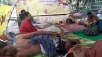 Tempat Pengungsian Sementara Korban Gempa Lombok 7 SR (Istimewa)