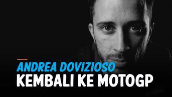VIDEO: Andrea Dovizioso Kembali ke MotoGP, Gabung Petronas Yamaha
