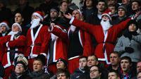 Suasana para suporter klub Premier League pada periode Boxing Day. (Huffpost.com).