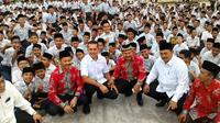 Bakal Calon Wakil Gubernur Sumatera Utara (Cawagub Sumut) Musa Rajekshah. (Liputan6.com/Reza Efendi)