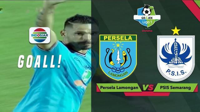 Berita video momen gol penalti Wallace Costa pada laga Persela Lamongan kontra PSIS Semarang dalam lanjutan Gojek Liga 1 2018 bersama Bukalapak, Jumat (5/10/2018).