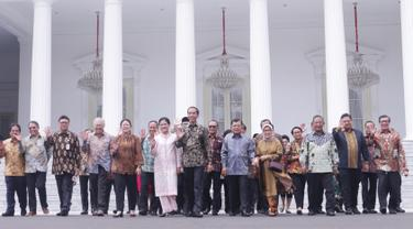 Momen Perpisahan Jokowi dan Kabinet Kerja Jilid I