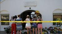 Lokasi penembakan massal di Gereja bersejarah Emanuel African Methodist Episcopal (AME). (Reuters)
