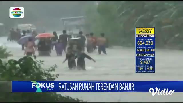 Fokus Pagi memberikan informasi berita-berita di antaranya, Asrama Brimob Kelapa Dua Terbakar, Banjir Di Permukiman Warga, Layanan Tes Covid-19 Di Bandara Soetta, Pesawat Tergelincir.