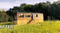 Potret Lorry Lodge, truk trailer yang diubah menjadi rumah modern. (dok. raffall.com)