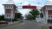 Pos Lintas Batas Motaain yang memisahkan Indonesia dengan Timor Leste. (Liputan6.com/Ola Keda)