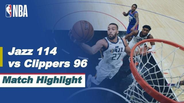 Berita Video Highlights NBA, LA Clippers Telan Kekalahan dari Utah Jazz (18/2/2021)