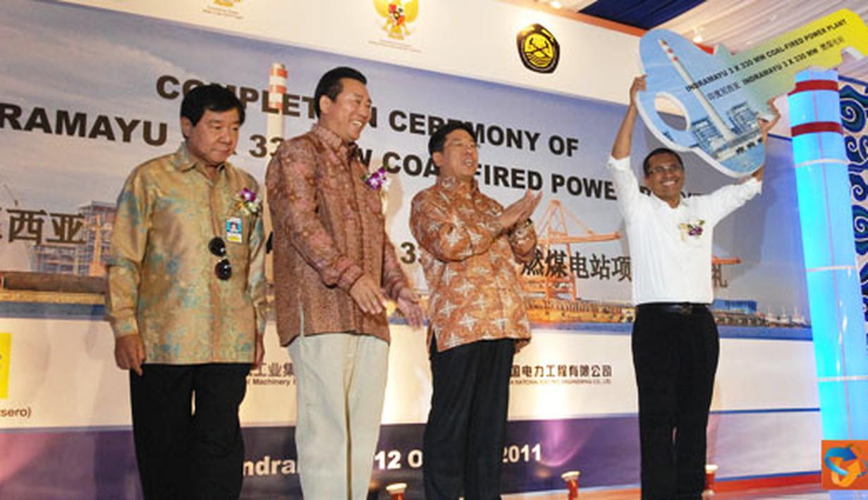 Citizen6, Indramayu: Sistim kelistrikan Jawa-Bali dipastikan semakin tangguh menyusul beroperasinya PLTU 1 Jawa Barat Indramayu yang berkapasitas 3x330 Mega Watt (MW). (Pengirim: Agus Trimukti)