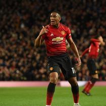 Striker Manchester United asal Prancis, Anthony Martial. (AFP/Oli Scarff)