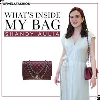 What's In My Bag: Shandy Aulia