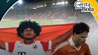 Cerita Bola - Marco Van Basten dan Bagus Kahfi. (Bola.com/Dody Iryawan)