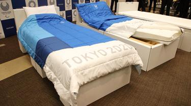 Tempat tidur Olimpiade 2020 terbuat dari kardus bekas