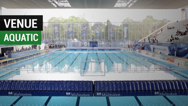 Berita video dua wanita Jepang memberi komentarnya soal venue aquatic di Gelora Bung Karno yang sudah dipakai untuk cabang polo air sebelum pembukaan Asian Games 2018.