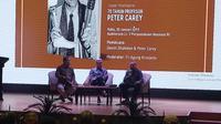 Peluncuran Buku Urip iku Urup, 70 Tahun Prof Peter Carey oleh Penerbit Buku Kompas hari ini di Perpustaan Nasional (30/01/2019)