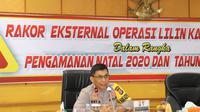 Wakapolda Banten, Brigjen Pol Ery Nursatari, Di Mapolda Banten. (Senin, 14/12/2020). (Dokumentasi Polda Banten).