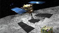 Misi Hayabusa2 ke asteroid (JAXA)