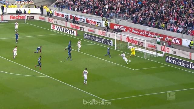 Hamburg gagal memetik kemenangan pertama dalam 15 pertandingan terakhir mereka di Bundesliga setelah ditahan imbang 1-1 oleh tuan ...