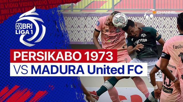 Berita Video, Beragam Peluang yang Tercipta dalam Laga Persikabo 1973 Vs Madura United di BRI Liga 1 pada Jumat (3/9/2021)